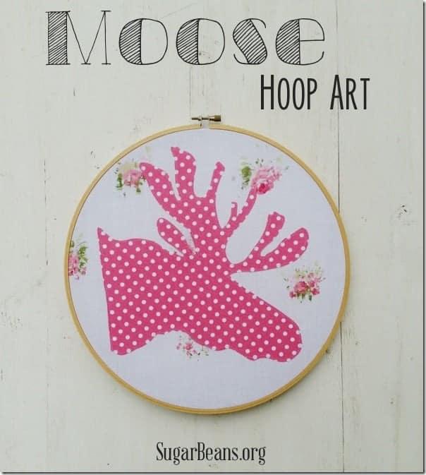 Moose Hoop Art