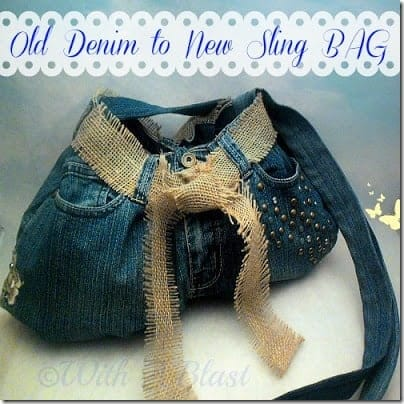 Old Denim to New Sling Bag1