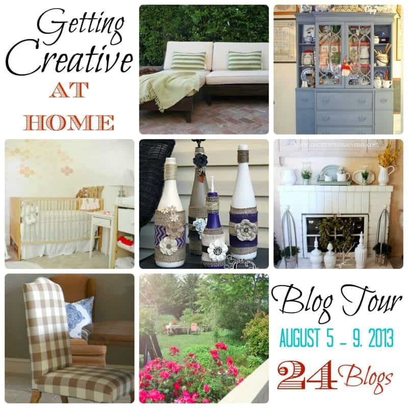 Getting Creative at Home Blog Tour Round Up