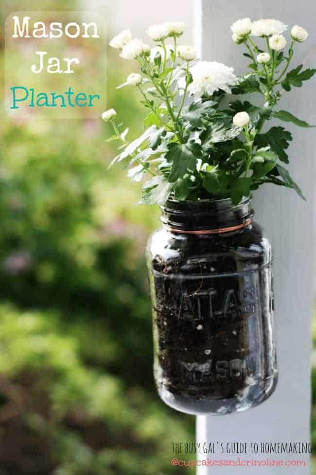 Planter Mason Jars