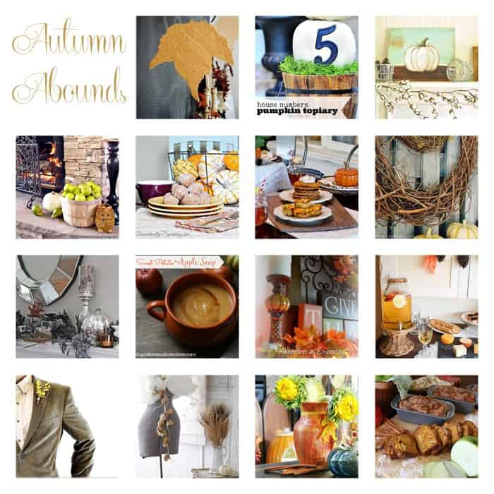Autumn Abounds 15 Blog Linky Party & $1,000 Prize Package Giveaway