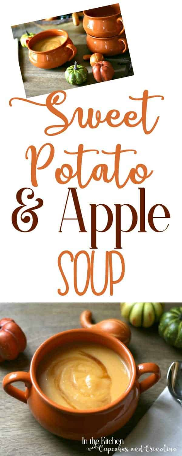 Celebrate the season with the rich and hearty combination of sweet potatoes and apples for a delicious and unique soup.