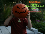 Glow-in-the-Dark Ghost Necklace ~ Quick and Easy Kids Craft