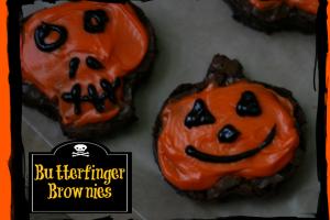 #TrickUrTreat #shop Butterfinger Browniers