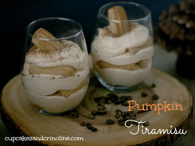Rich and delicious, Coffee and Pumpkin Tiramisu