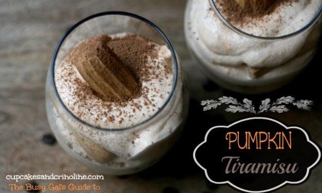 Coffee and Pumpkin Tiramisu ~ A Bountiful Harvest