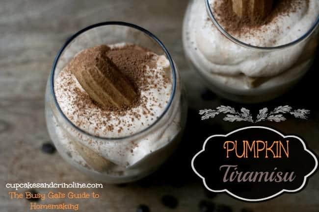 Coffee and Pumpkin Tiramisu