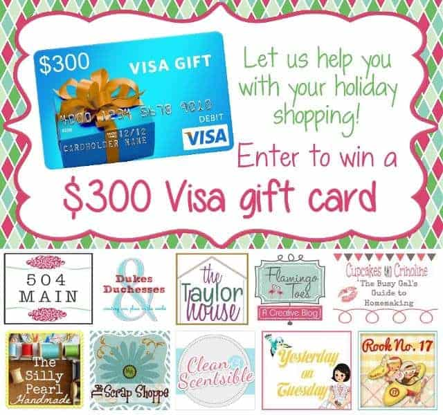 Another Holiday Giveaway for You ~ You Could Win a $300 Visa Gift Card