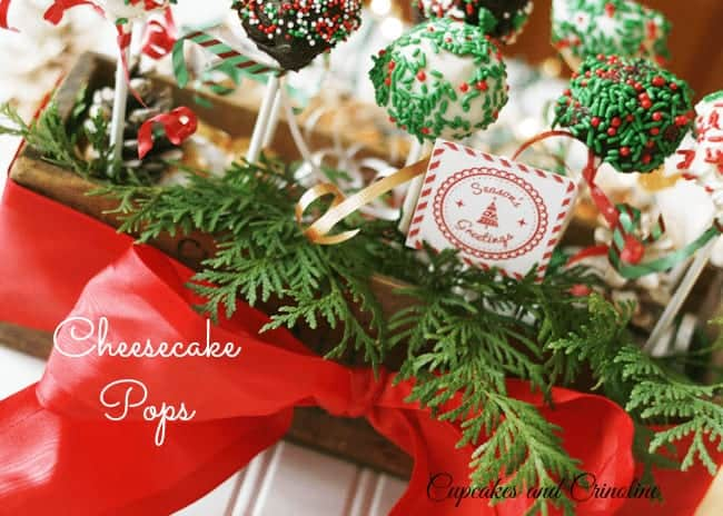 Cheesecake Pops #PerfectPie #Cbias #shop