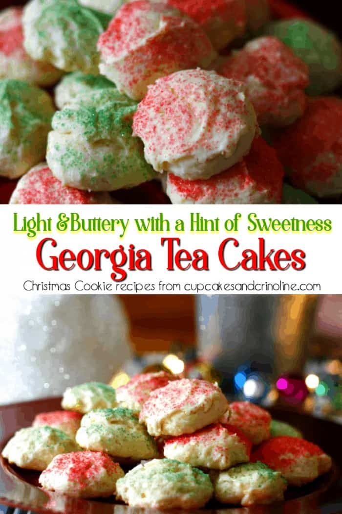 Light and buttery George Tea Cakes - Christmas Cookie Recipes from www.cupcakesandcrinoline.com