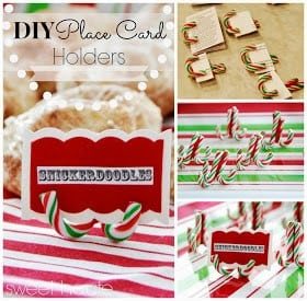 Place Card DIY- SWEET HAUTE