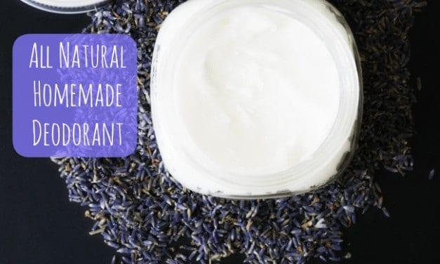 A Natural Alternative ~ Homemade Deodorant