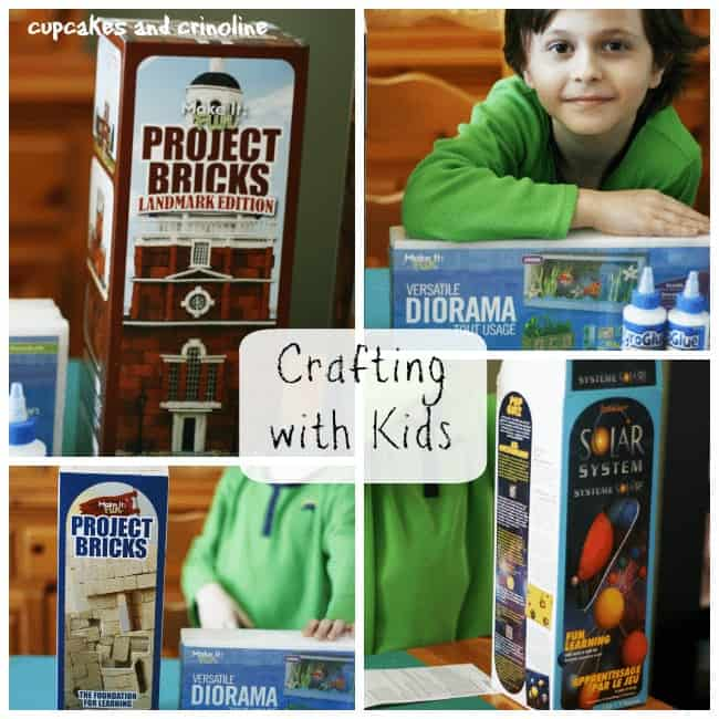 Crafting with Kids Supply Collage