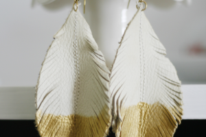 How To Make Feather Earrings