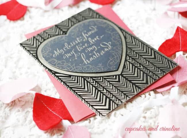 Husband Valentine's Day Card #ValentineCards #shop2