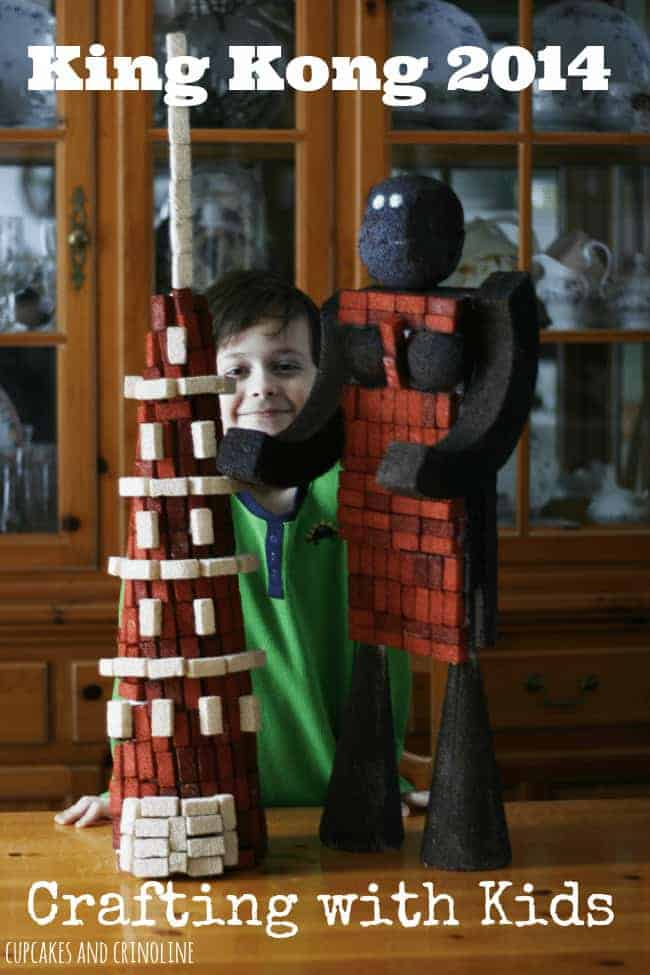 King Kong 2014 Crafting with Kids