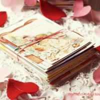 Memories in Ribbon #ValentineCards #shop at Cupcakes and Crinoline