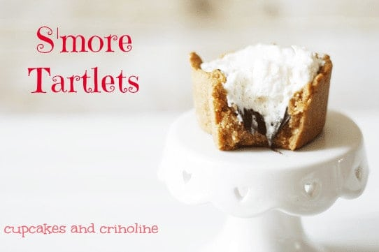 S'more Tartlets Valentine's Day Dessert 2