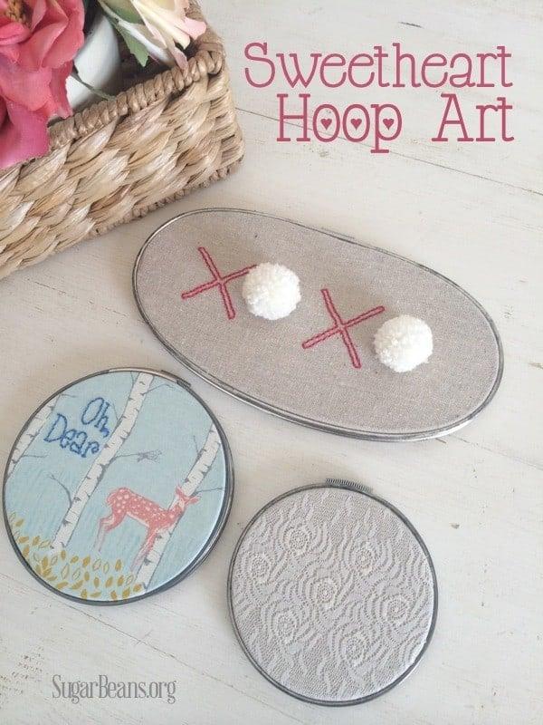 Sweetheart Hoop Art