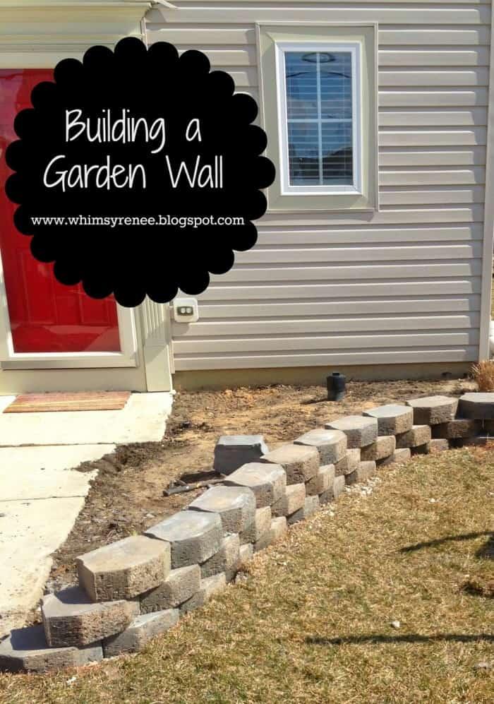 Building a Garden Wall 000