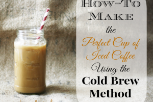 Cold-Brewed-Iced-Coffee from Cupcakes-and-crinoline #iced #coffee #cold #brew