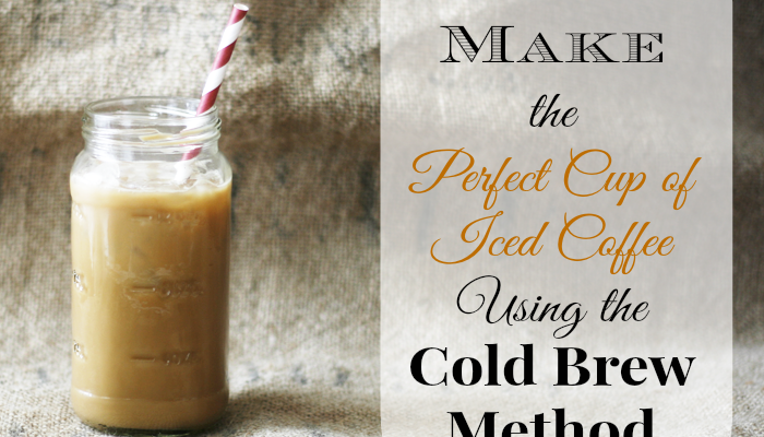 How to Make the Perfect Cup of Iced Coffee and a Giveaway