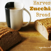 Harvest-Zucchini-Bread from Cupcakes-and-Crinoline #zucchini #bread