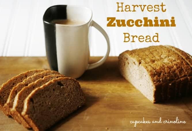 Harvest-Zucchini-Bread from Cupcakes-and-Crinoline #zucchini #bread