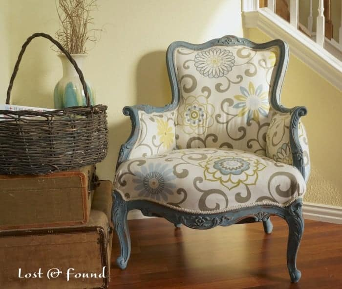 Lost and Found French Chair Makeover