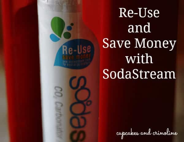 Re-Use and Save Money with SodaStream Cupcakes and Crinoline
