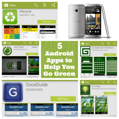 5 Android Apps For Earth Day ~ Going Green with My HTC One