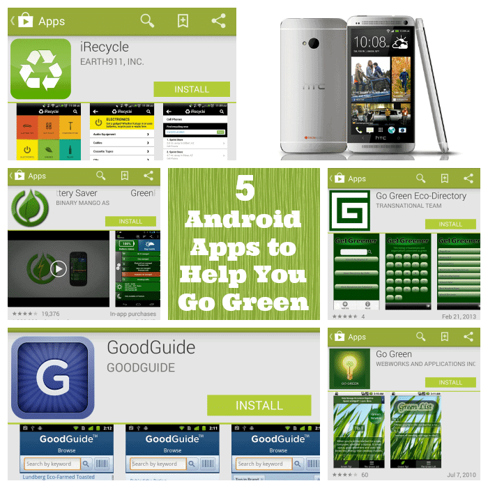 android-apps-to-help-go-green #HTCOne #VZWBuzz #ad