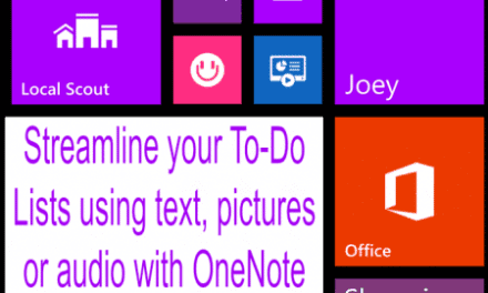 How I Stay Organized with My Windows Phone