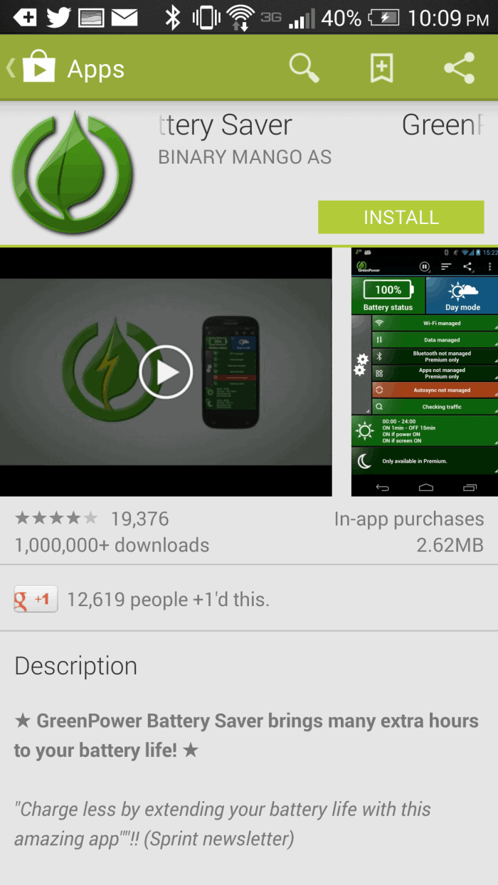 android-app-battery-saver #VZWBuzz #HTCOne #ad
