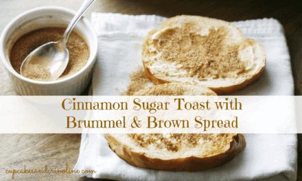 Light and Tasty Cinnamon Sugar Toast