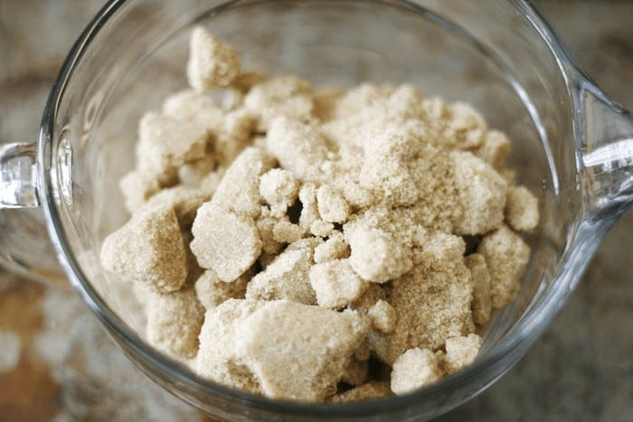 How to soften brown sugar fast! From rock hard to skily soft in 20 seconds. Popular pin from cupcakesandcrinoline.com
