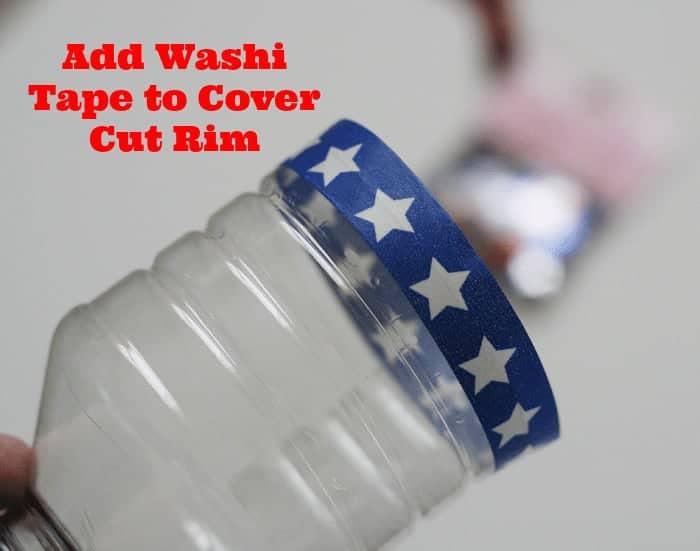 Confetti Popper #UltimateRedWhiteAndBlue with Washi Tape