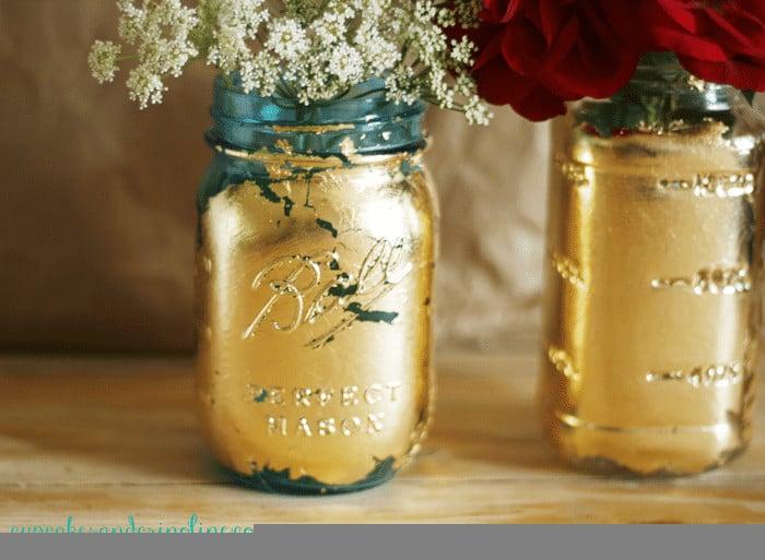 Gilded-Mason-Jars-cupcakesandcrinoline.com_