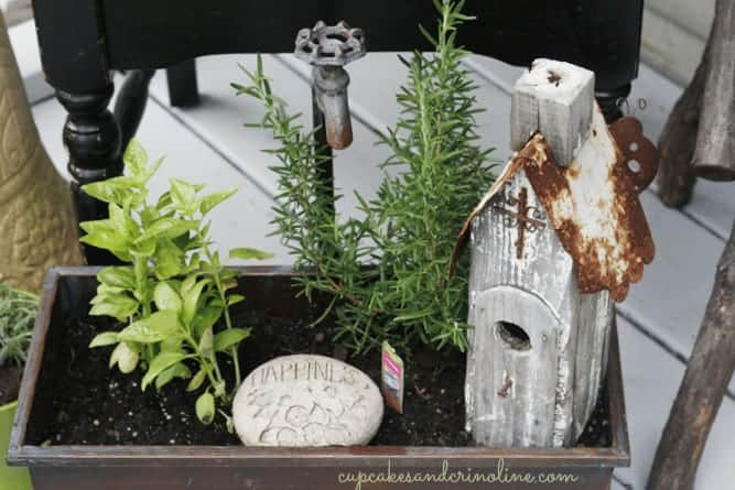 Herb Garden Elements of Summer