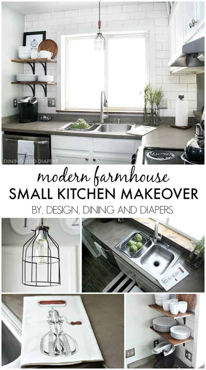 Small-Kitchen-Makeover-with-a-Modern-Farmhouse-Style-great-ideas-for-decorating-a-small-space-on-a-budget-designdininganddiapers.com_