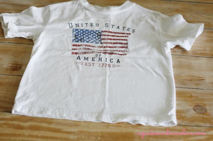T-shirt-tote-bag-for-kids at cupcakesandcrinoline.com first step