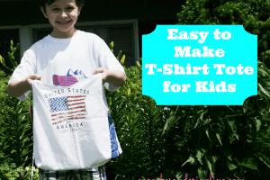 T-shirt-tote-bag-for-kids at cupcakesandcrinoline.com #tshirt #totebag #recycle #repurpose