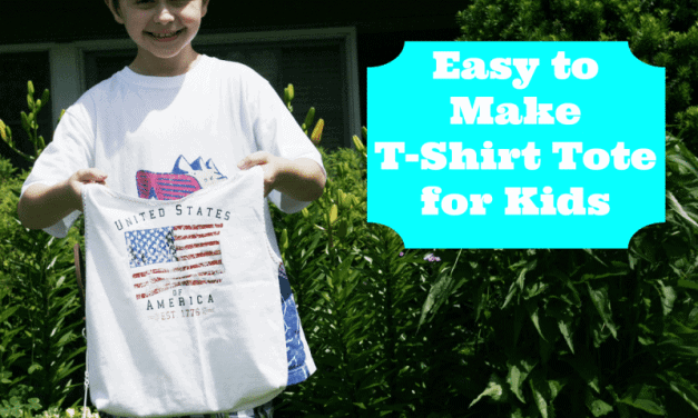 T-Shirt Tote Bag for Kids