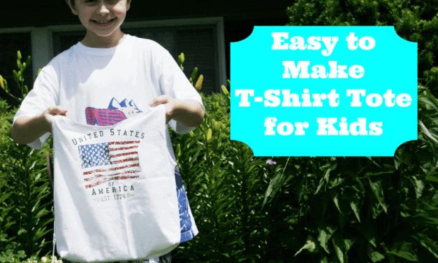 T-Shirt Tote Bag for Kids