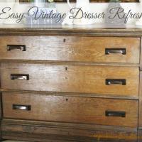 Vintage Dresser Refresh #Rockler