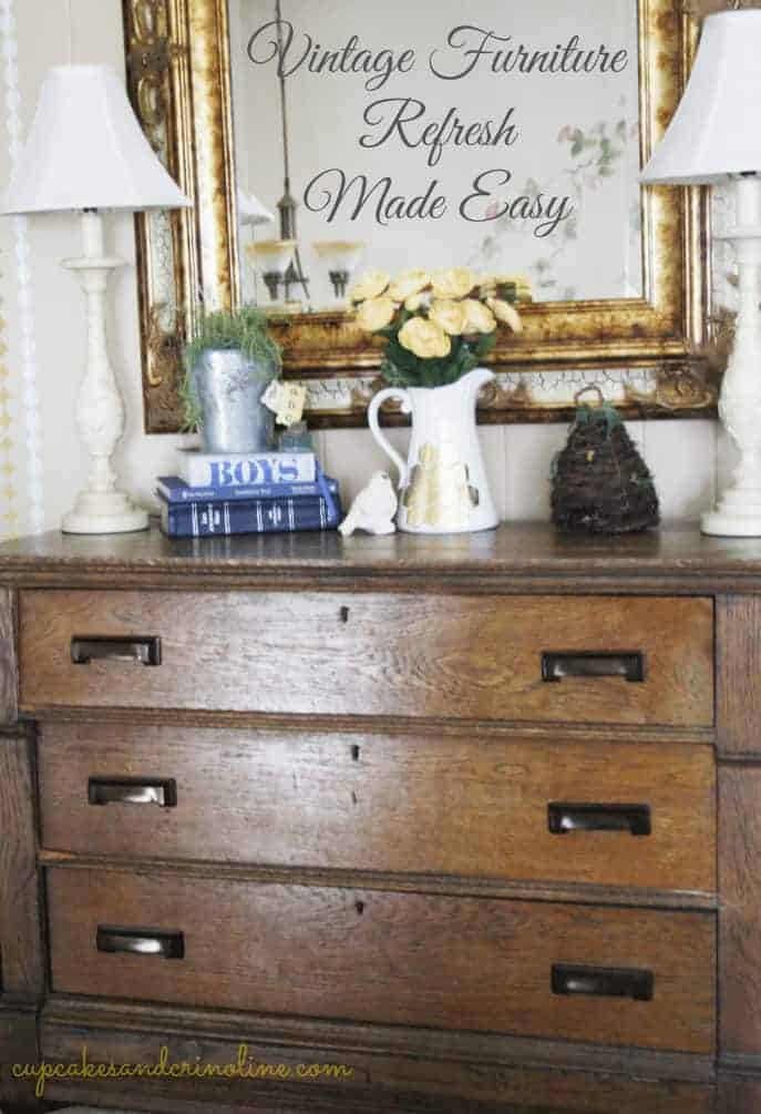 Vintage Furniture Refresh Made Easy