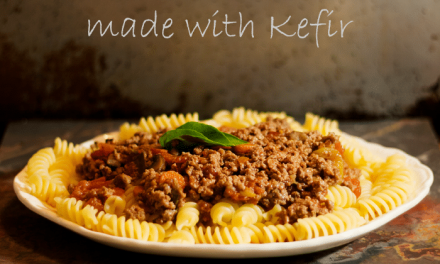 Rich and Delicious Bolognese Sauce Made with Kefir