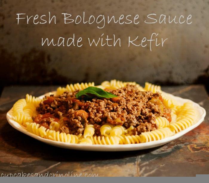 Bolognese-Sauce-Made-With-Kefir #KefirCreations #shop #collectivebias from cupcakesandcrinoline.com