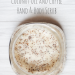 Coconut Oil and Coffee Hand and Body Scrub