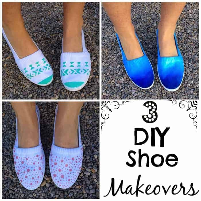 3 DIY shoes makeovers